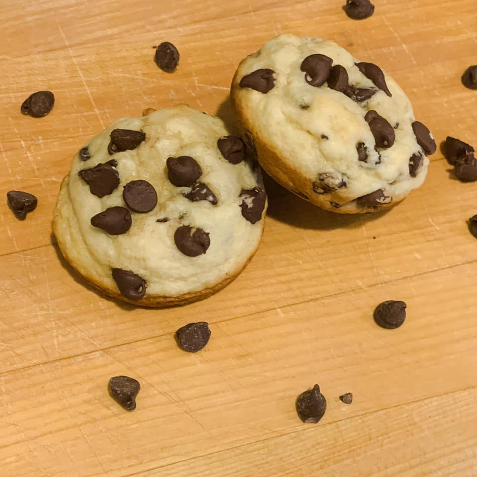 Chocolate Chip Muffin Tops