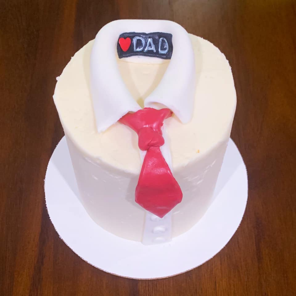 Collared Shirt Cake